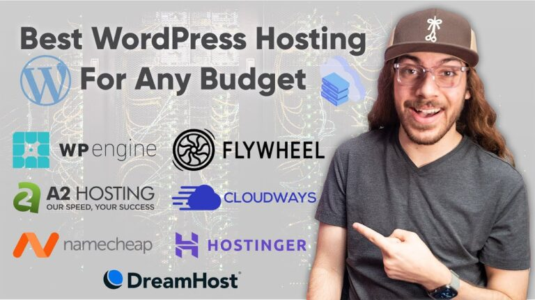 Ultimate WordPress Hosting Comparison (2020) |  The BEST WordPress host for any budget!