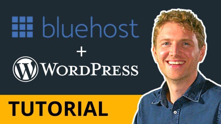 Bluehost WordPress Website Hosting – 2021 Tutorial