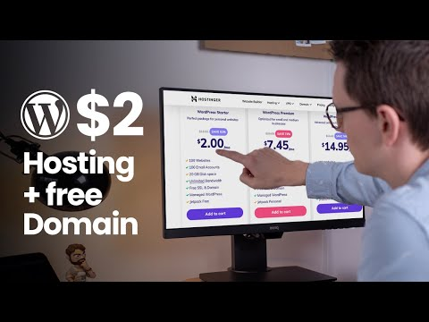 Hostinger – Cheap $ 2 WordPress Hosting with a Free Domain