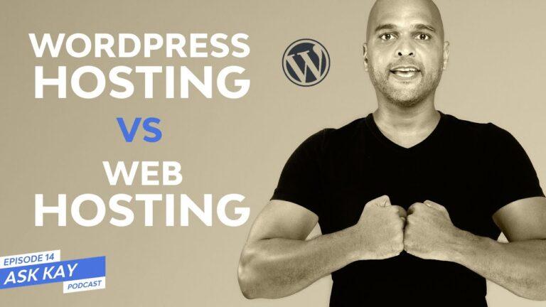 Web Hosting Vs WordPress Hosting – How to Choose?