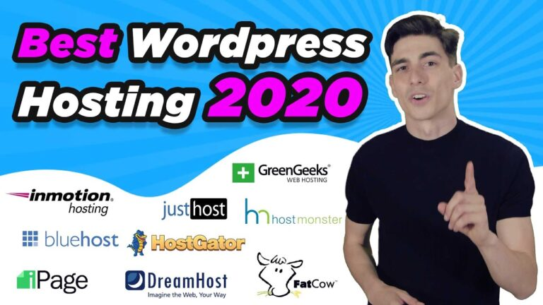 Best web hosting for WordPress 2020 – Best hosting for WordPress 🔥 (Exclusive discounts) 💰