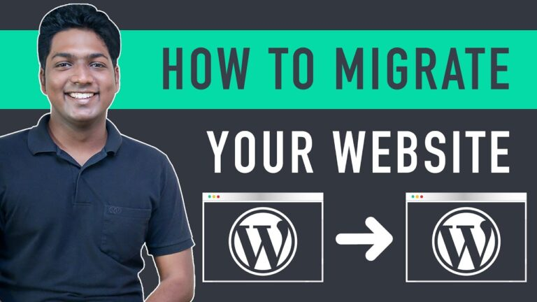 How to migrate an entire WordPress site to a new host