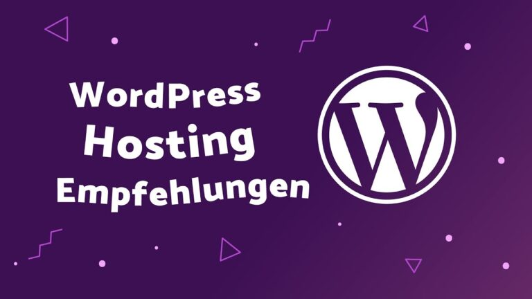 WordPress Hosting Recommendations 2019 (German)