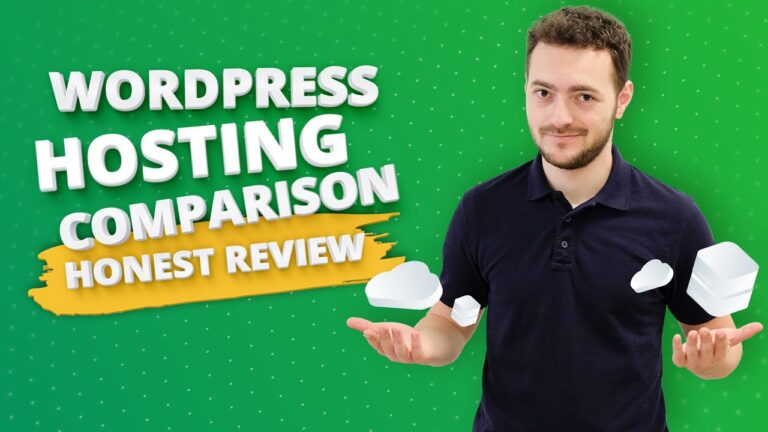 Best WordPress Hosting Comparison (HONEST REVIEW)