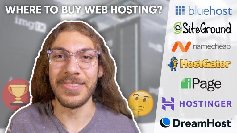 Best WordPress Web Hosting |  An honest comparison