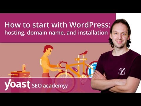 How to get started with WordPress: hosting, domain name and installation |  WordPress for beginners
