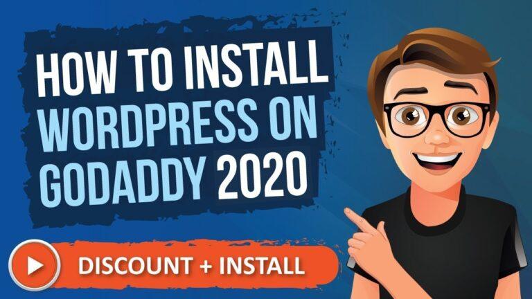 GoDaddy WordPress 2020 Installation [How To Install WordPress on GoDaddy]