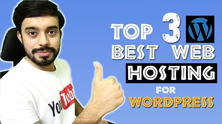 Top 3 Best Web Hosting for WordPress    WordPress hosting plans and prices by Dmarketing Wall