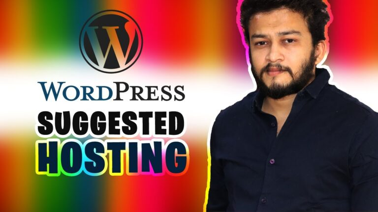 The best hosting recommended by WordPress ||  bluehost ||  how to choose the best web hosting in india 2020