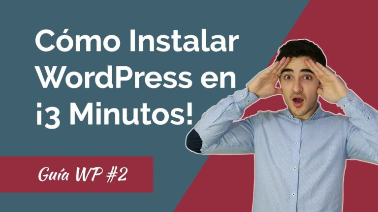 How to Install WordPress on your Hosting IN 3 MINUTES!