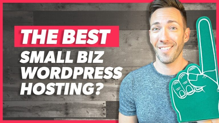 The Best WordPress Hosting For Your Small Business Website (And A Special Offer)
