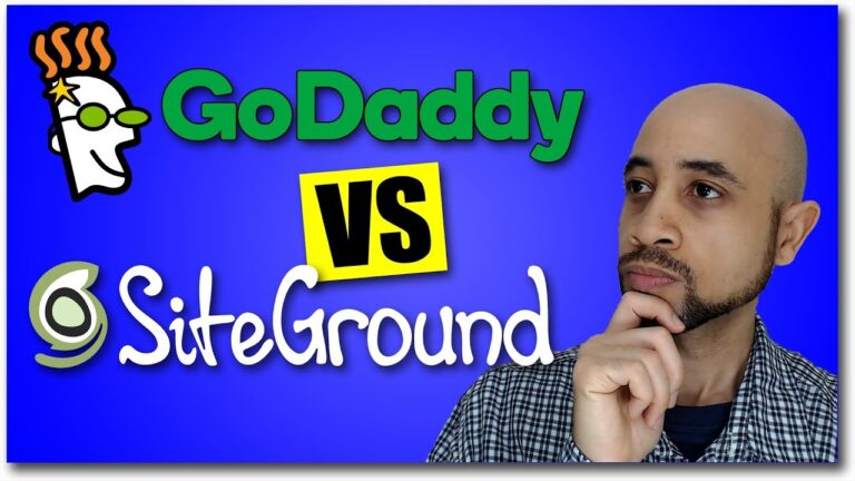 WordPress Hosting SiteGround Vs GoDaddy (In-depth Comparison)