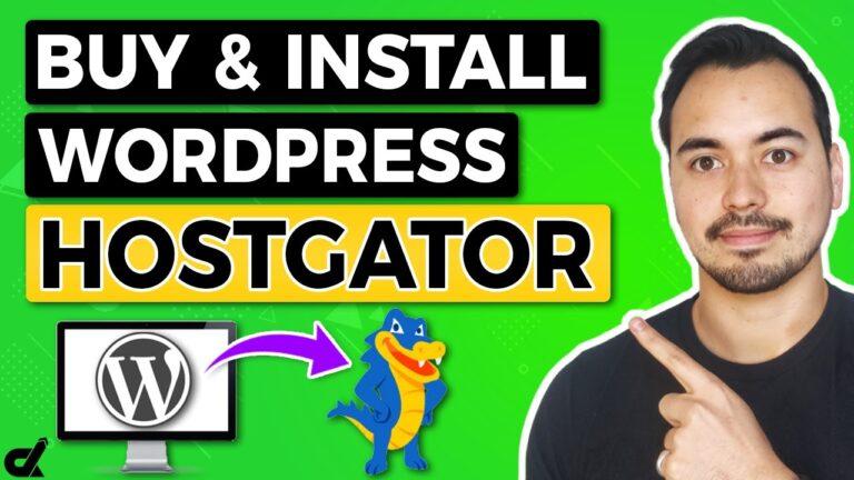 How to install WordPress on HostGator 2021 [Tutorial: beginners hosting buying & setup guide]