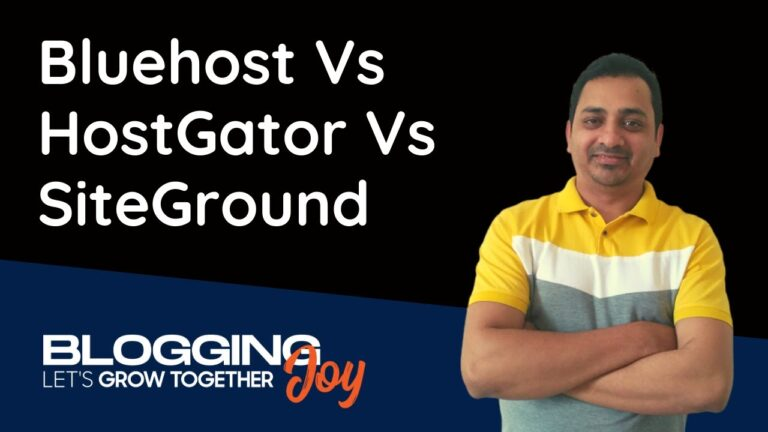 Bluehost Vs HostGator Vs SiteGround Comparison 2020 |  What is the best WordPress hosting for beginners?