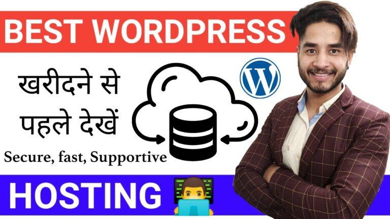 Best WordPress Hosting 💥 (Comparison of Top Web Hosting Companies)