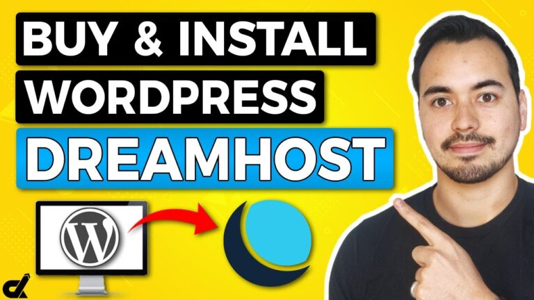 How to install WordPress hosting at DreamHost 2021 🔥 Domain + hosting setup and purchase tutorial