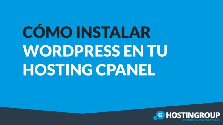How to Install WordPress on cPanel Hosting