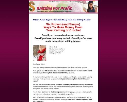 Essential Make Money Knitting Ideas