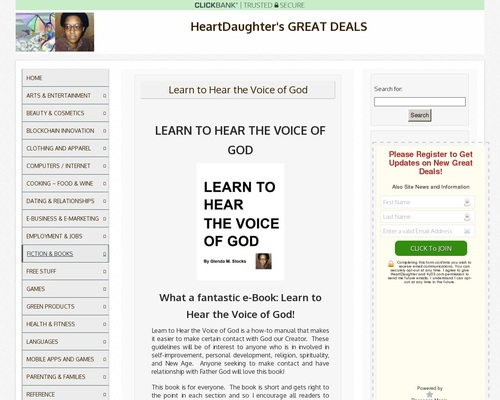 Learn to Hear the Voice of God – HeartDaughter's GREAT DEALS