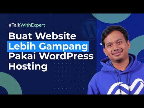 #TalkWithExpert Make the website easier to use with WordPress hosting