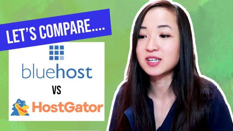 BLUE HOST AGAINST HOSTGATOR?  Best WordPress Hosting Platform in 2021 (Blogging 101)