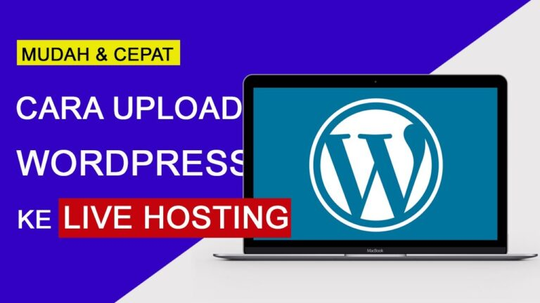 How to upload WordPress from localhost to hosting