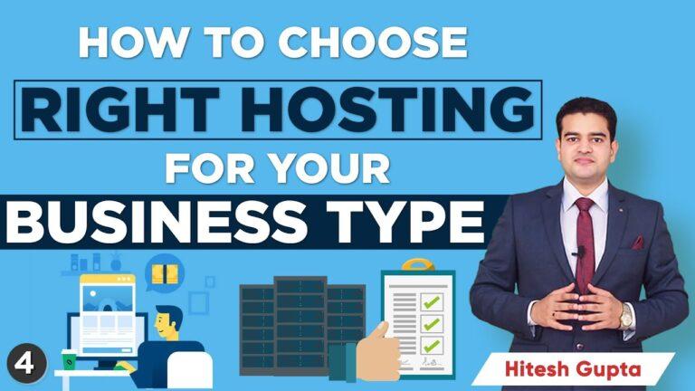How To Choose Website Hosting    Ecommerce Hosting    WordPress Hosting    Business hosting