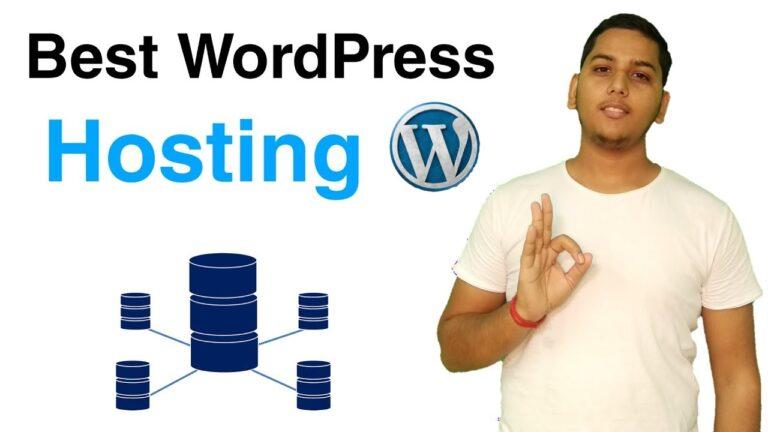 Best WordPress Hosting For Blogs And Websites 2020 |  Hosting recommended by WordPress |  Niraj yadav