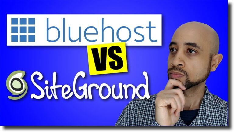 SiteGround Vs Bluehost WordPress Hosting (Head to Head Showdown)