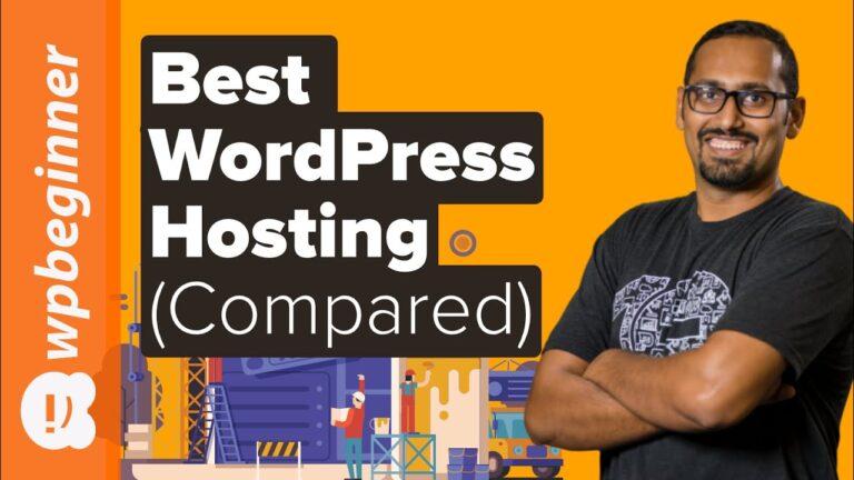 Best WordPress Hosting 2020 (compared)