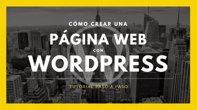 How to CREATE a WEB PAGE with WordPress for your BUSINESS ✅ Best Tutorial 2021