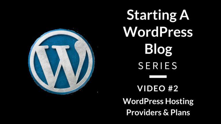 WordPress Hosting Plans: Introduction to GoDaddy