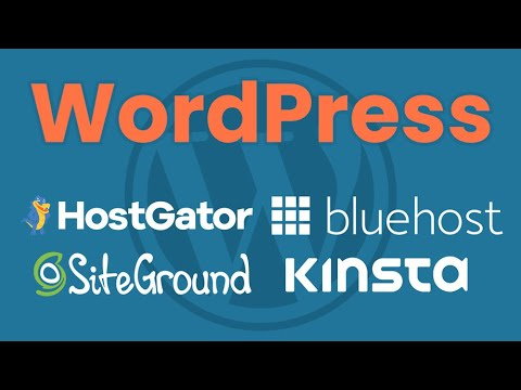 Best WordPress Hosting 2021: HostGator vs Bluehost vs SiteGround vs Kinsta Comparison