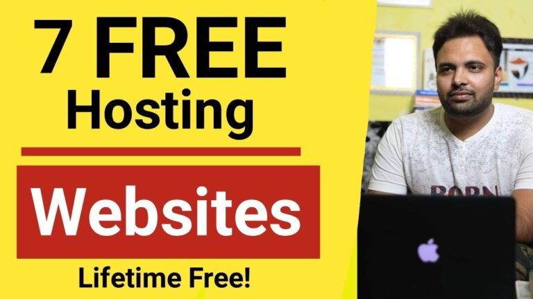7 Free Hosting Websites |  Free hosting for life + free domain + WordPress with Cpanel in 2021