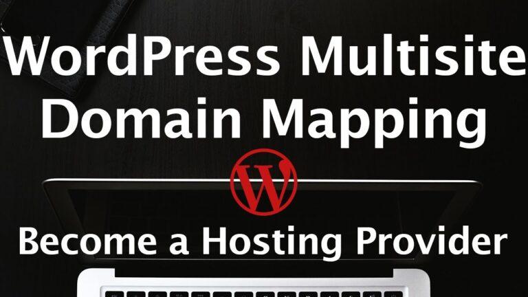 WordPress Multisite Tutorial – Domain Mapping Plugin – Custom URLs – WordPress Hosting Service