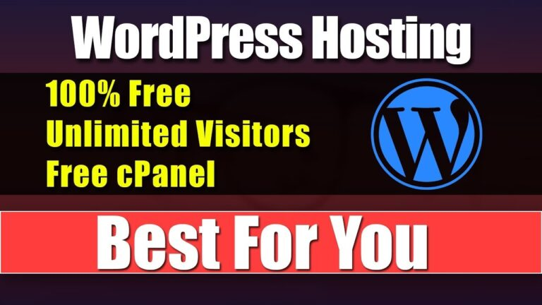 100% free WordPress hosting ||  Unlimited visitors ||  Start Blog Today 2019