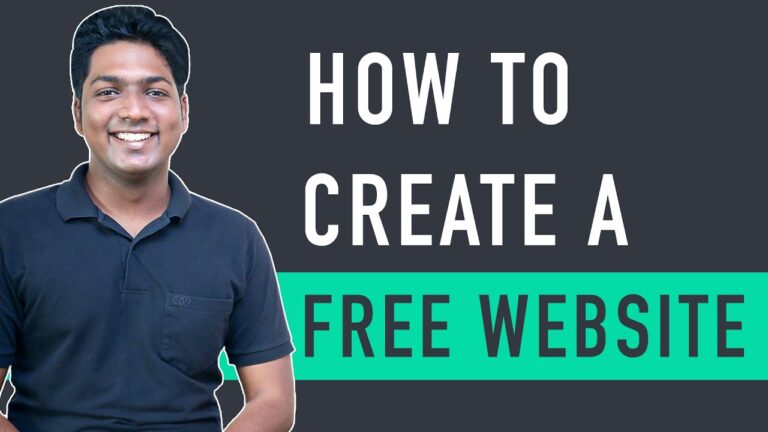 How to create a free website, with free domain and free hosting