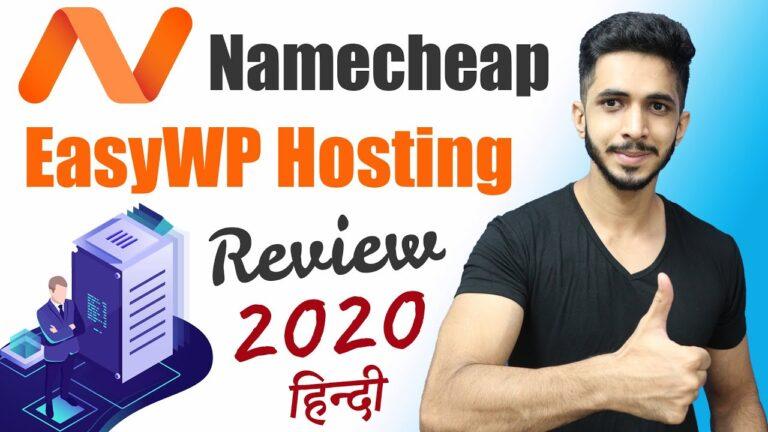 WordPress Namecheap Hindi Hosting Review (2020) – EasyWP Review