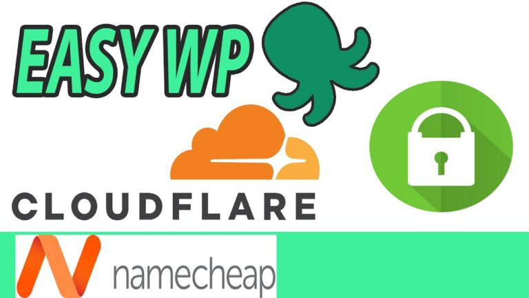 How to use Cloudflare with EasyWP Namecheap managed wordpress hosting