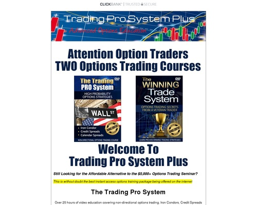 Trading Pro System – Stock Market Options Trading Education