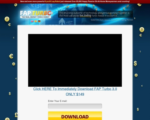 Real Money Doubling Forex Robot Fap Turbo – Sells Like Candy!