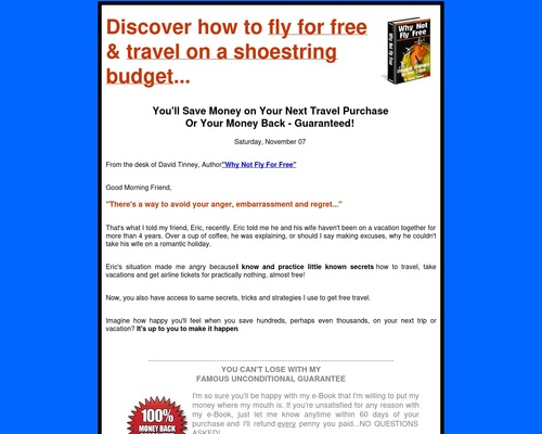 How To Fly For Free Using Frequent Flyer Miles | Fly for Free | Free Airfare | Fly Free