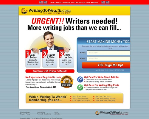 WritingToWealth – Join Now!