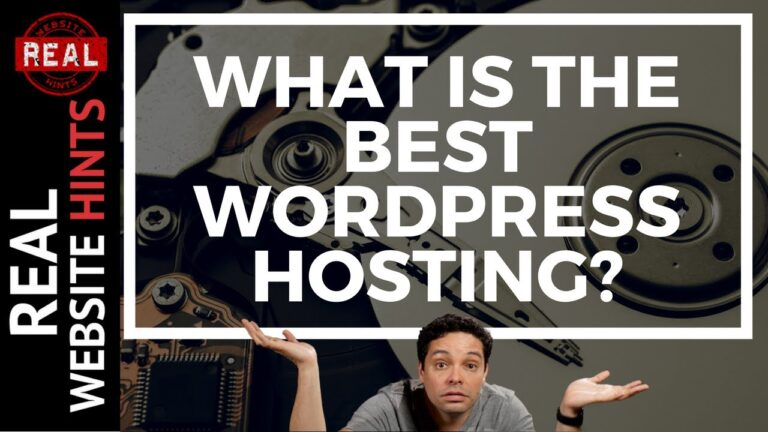 Web Hosting Review |  What is the best WordPress hosting?  – How to make a website n.  2