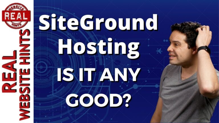 SiteGround review.  SiteGround is the best website hosting or best WordPress hosting 2018