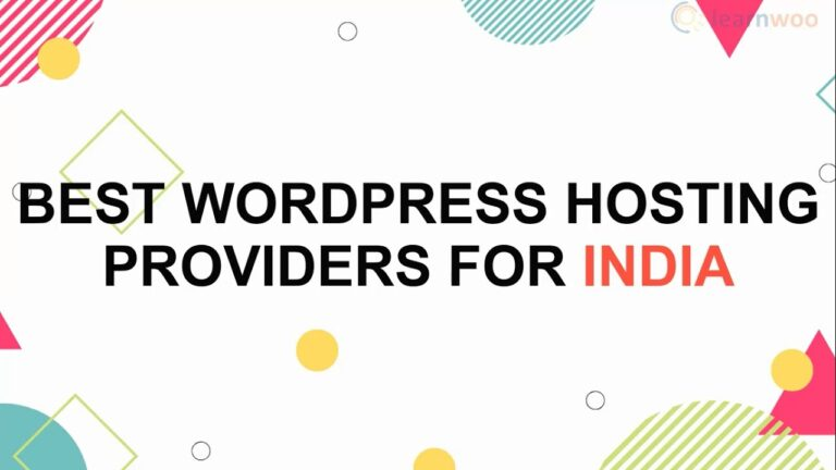 Top 10 WordPress Hosting Services for India