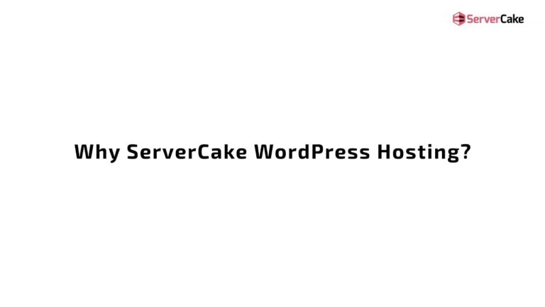 Best WordPress Hosting – ServerCake.