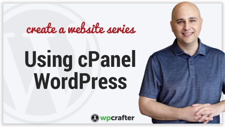 How to use cPanel and optimize your WordPress website