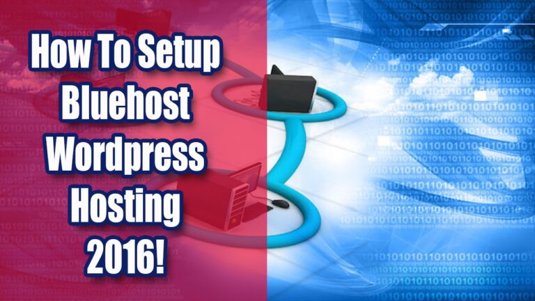 How to set up Bluehost WordPress Hosting [2016]