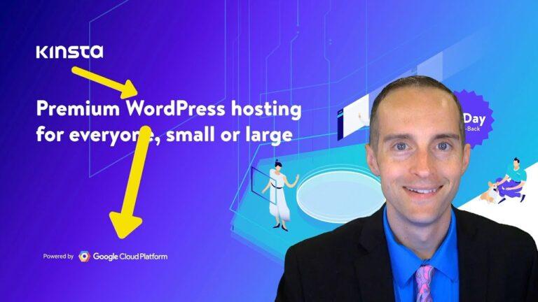 Kinsta – Best Managed WordPress Hosting For High Traffic Websites Selling Online Courses?